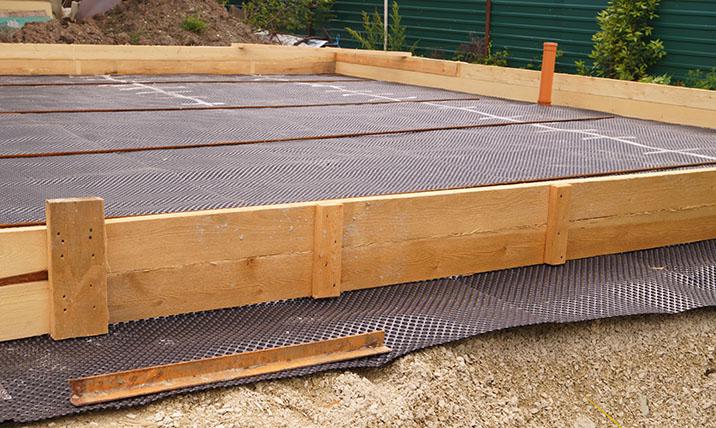 Waterproofing slab