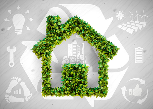Green home and energy sustainability