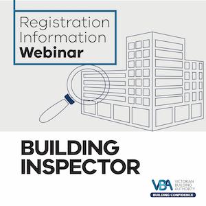 Building Inspector Registration Information Webinar