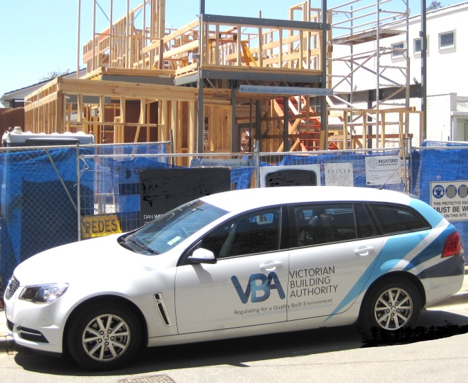 Proactive inspections - VBA car on site